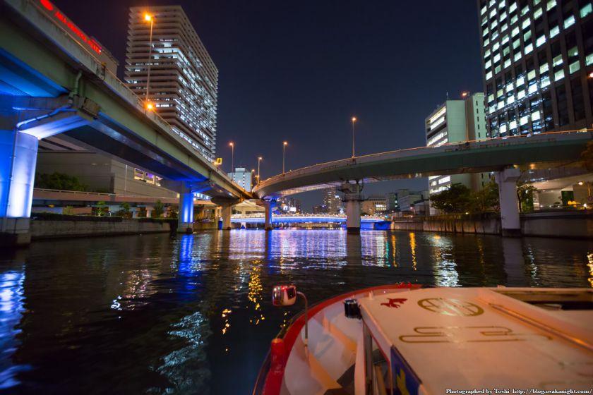 中之島リバークルーズ 阪神高速中之島分岐 03