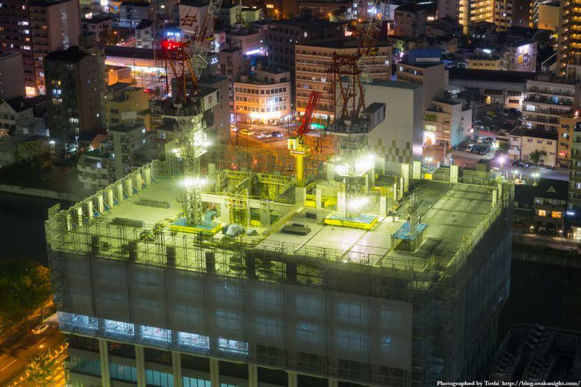 新MID大阪京橋ビル 夜景 2016年9月
