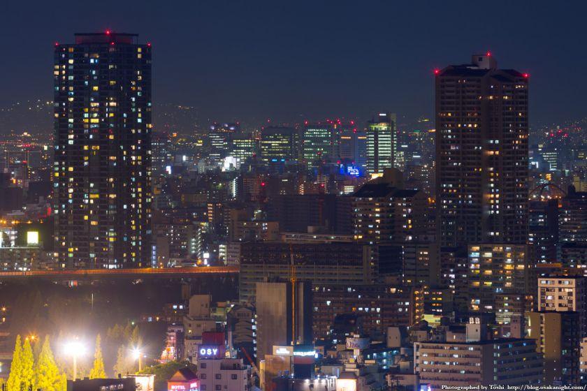 松下IMPビル 夜景 都島のタワマン 01 2016年9月