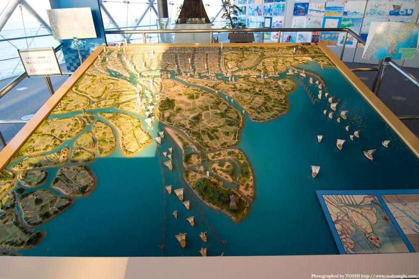 なにわの海の時空館 近世の大阪港