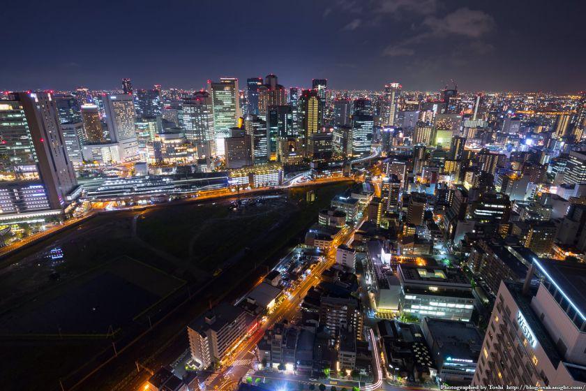 梅田スカイビル 39Fからの夜景 01 2016年10月