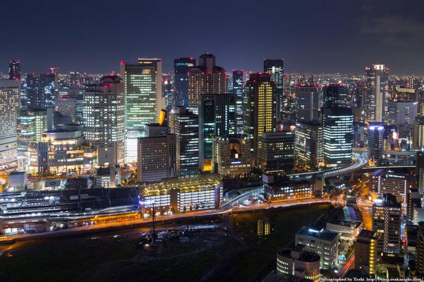 梅田スカイビル 39Fからの夜景 02 2016年10月