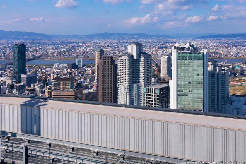 中之島フェスティバルタワー 屋上から北方向 西梅田方面