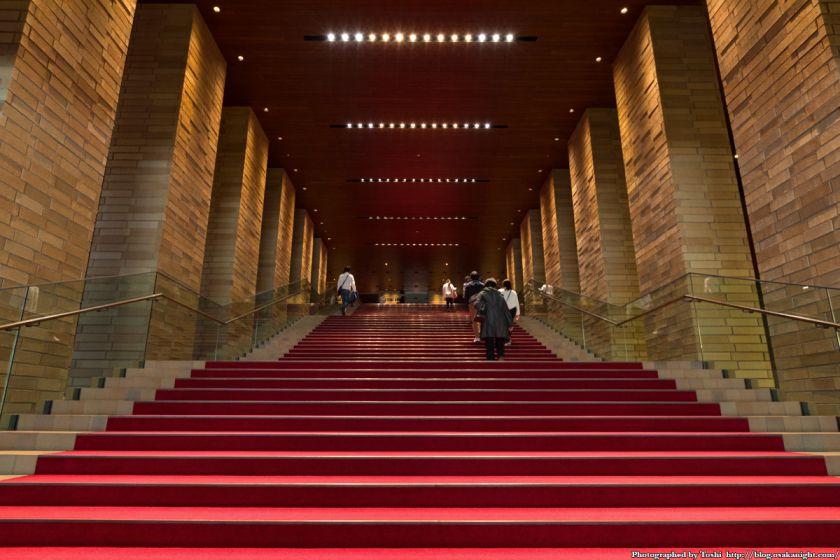 イケフェス大阪2016 フェスティバルホールの大階段