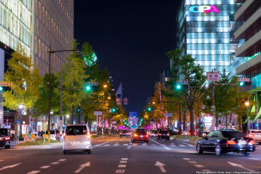 大阪・光の饗宴2016 開演式 御堂筋イルミネーション 07