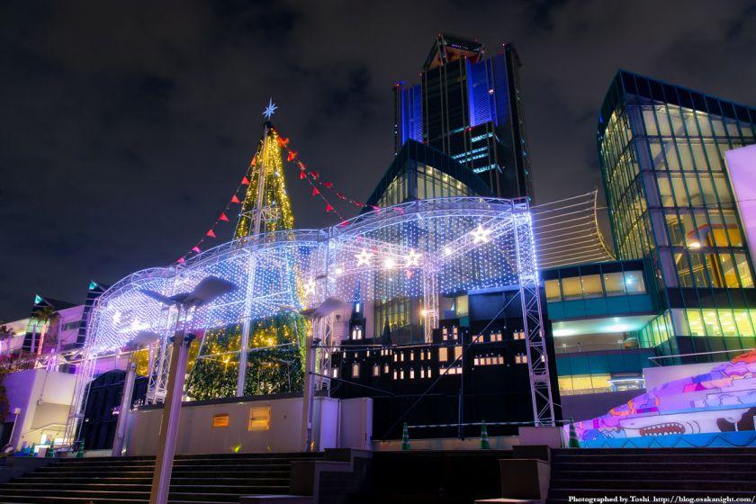 ATC BAYSIDE CHRISTMAS 2016 ツリーと大阪府咲洲庁舎(さきしまコスモタワー)