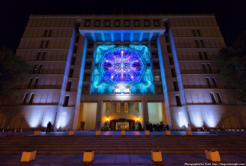 OSAKA光のルネサンス2016 大阪市役所
