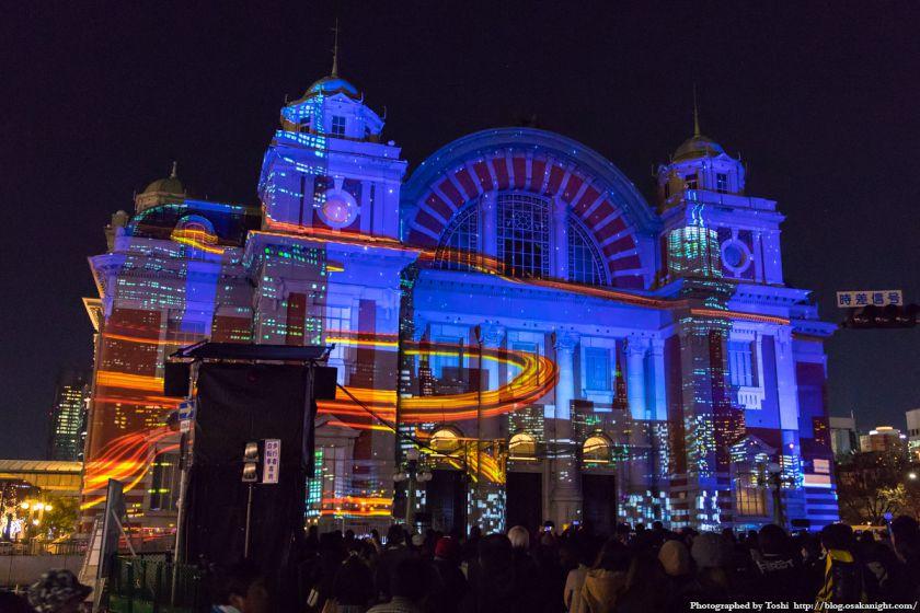 OSAKA光のルネサンス2016 大阪市中央公会堂マッピング 02
