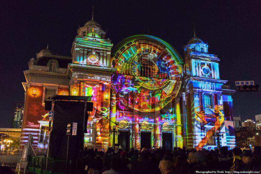 OSAKA光のルネサンス2016 大阪市中央公会堂マッピング 03