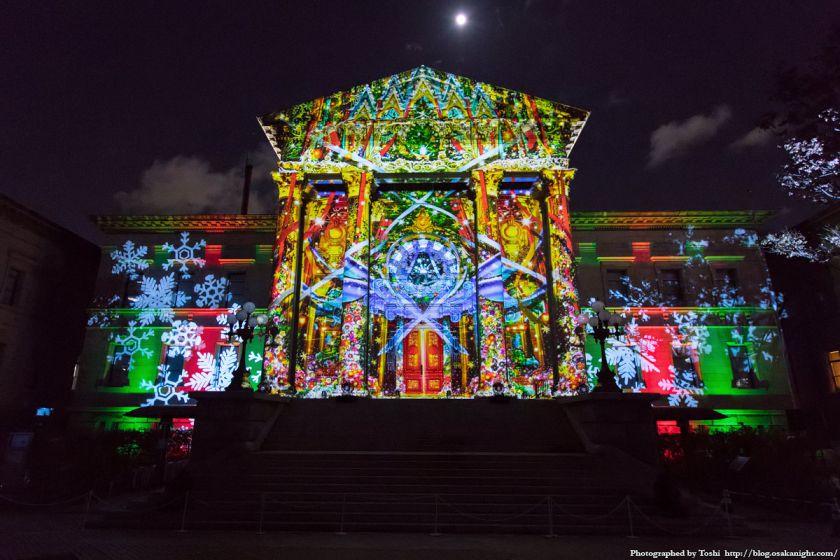OSAKA光のルネサンス2016 ウォールタペストリー 03