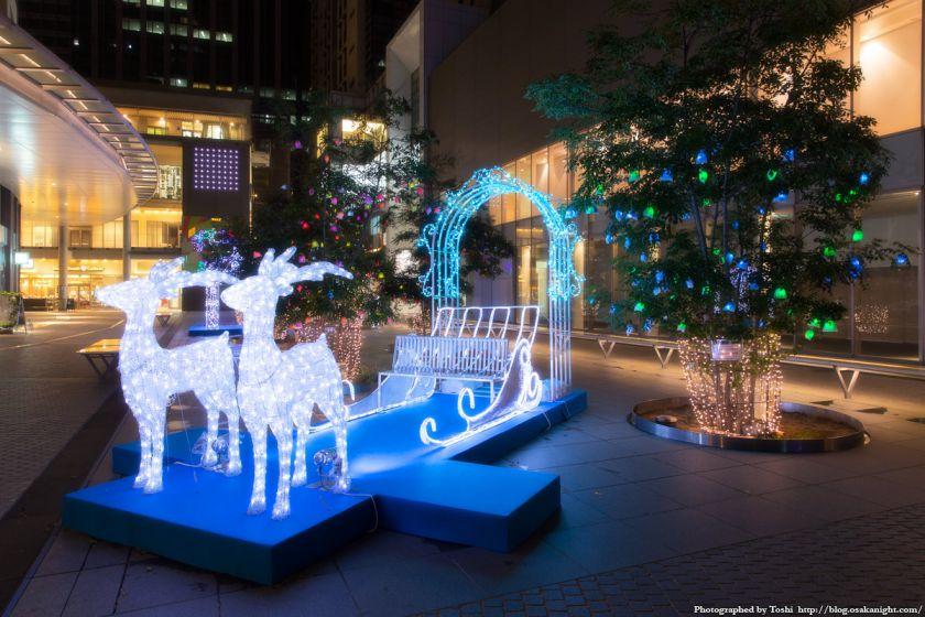 中之島ウエスト 冬ものがたり 2016 Hotarumachi fantasy illumination