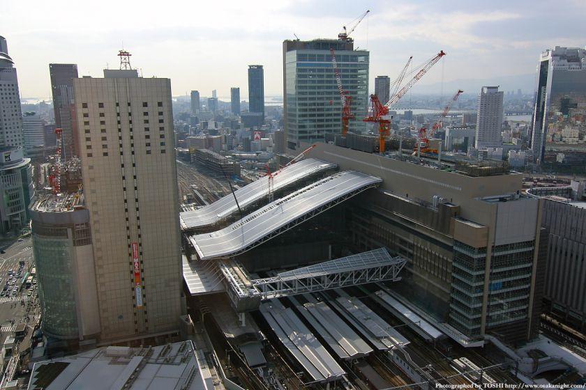 大阪ステーションシティ 全景 2010年4月