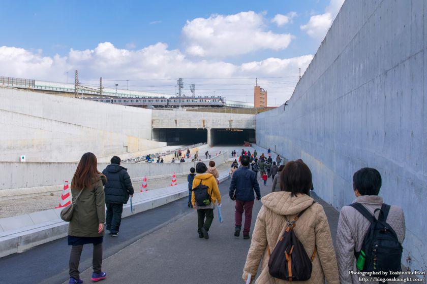 阪神高速大和川線(三宝ジャンクション〜鉄砲)開通記念イベント ハイウェイウォーク 2017年1月 02