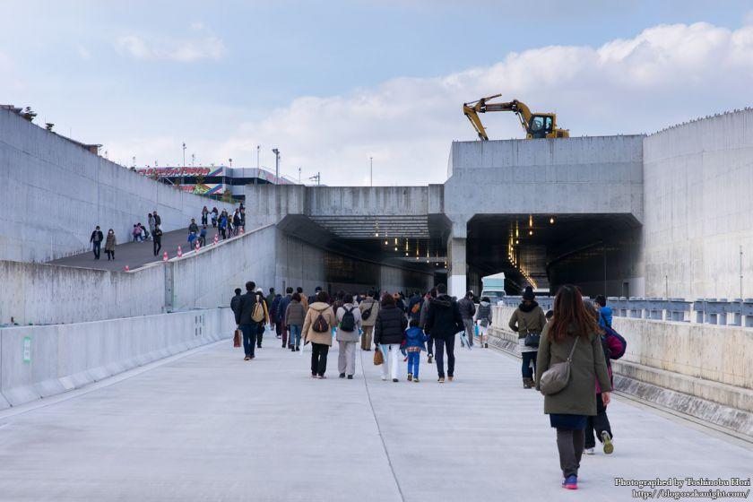 阪神高速大和川線(三宝ジャンクション〜鉄砲)開通記念イベント ハイウェイウォーク 2017年1月 03