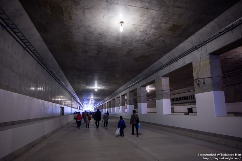 阪神高速大和川線(三宝ジャンクション〜鉄砲)開通記念イベント ハイウェイウォーク 2017年1月 05