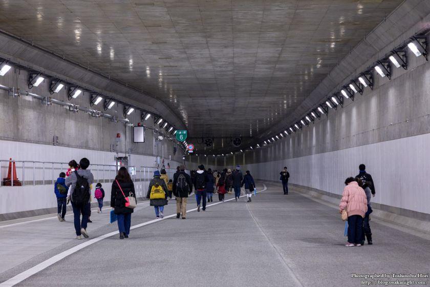 阪神高速大和川線(三宝ジャンクション〜鉄砲)開通記念イベント ハイウェイウォーク 2017年1月 06