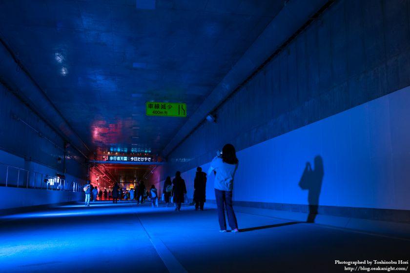 阪神高速大和川線(三宝ジャンクション〜鉄砲)開通記念イベント ハイウェイウォーク 2017年1月 16