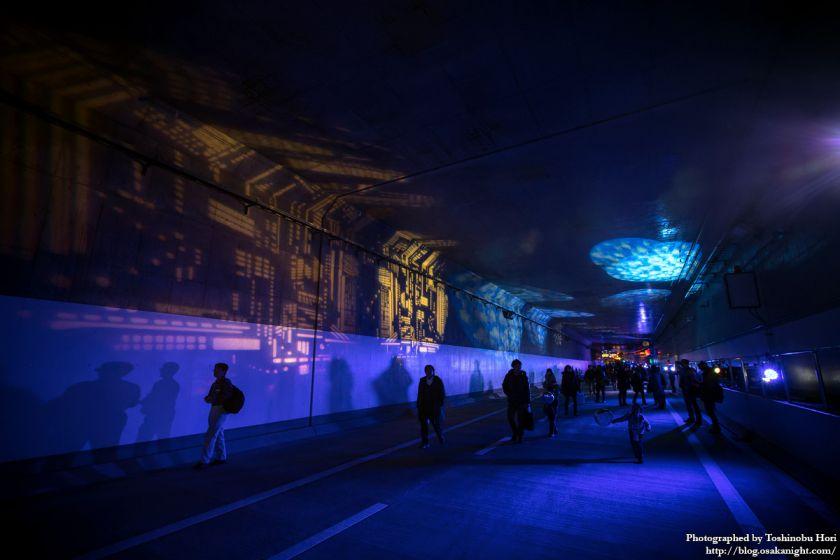 阪神高速大和川線(三宝ジャンクション〜鉄砲)開通記念イベント ハイウェイウォーク 2017年1月 21