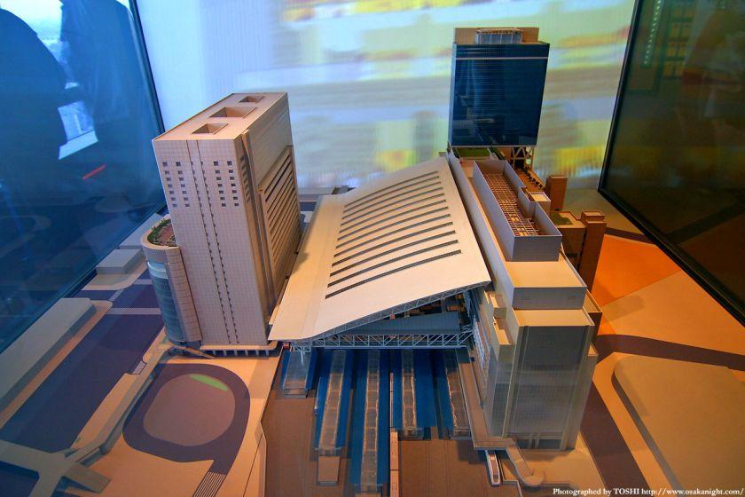 大阪ステーションシティの模型2