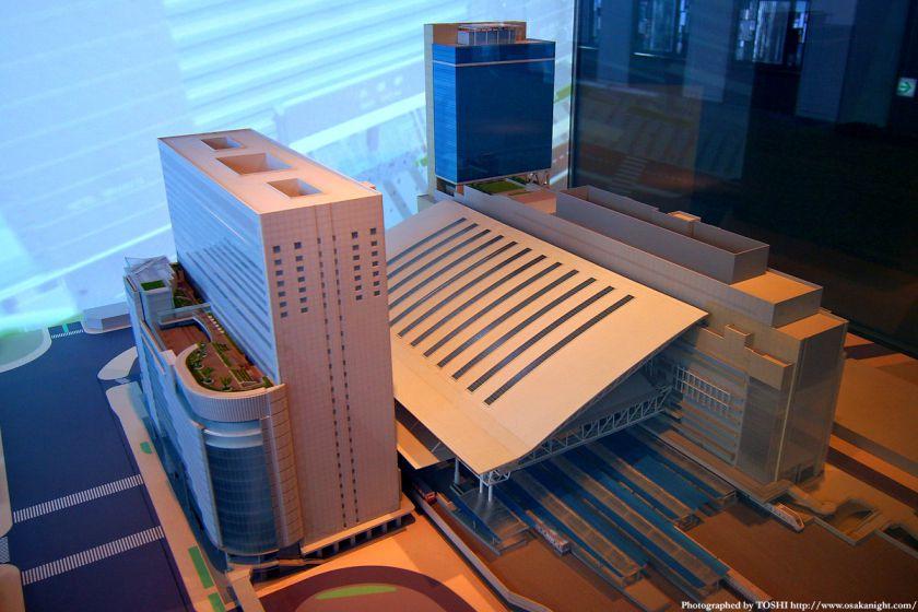 大阪ステーションシティの模型3