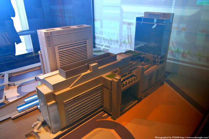 大阪ステーションシティの模型4