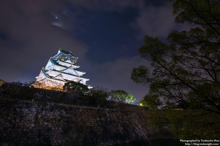 大阪城西の丸庭園 観楼ナイター 2017 07
