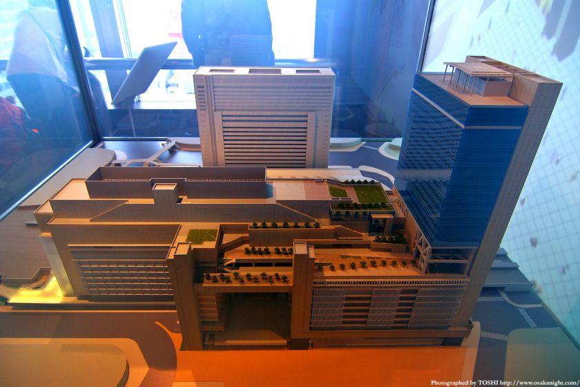 大阪ステーションシティの模型5