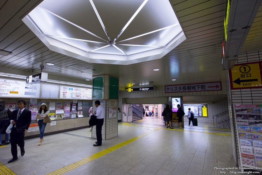 地下鉄心斎橋駅 2017年6月