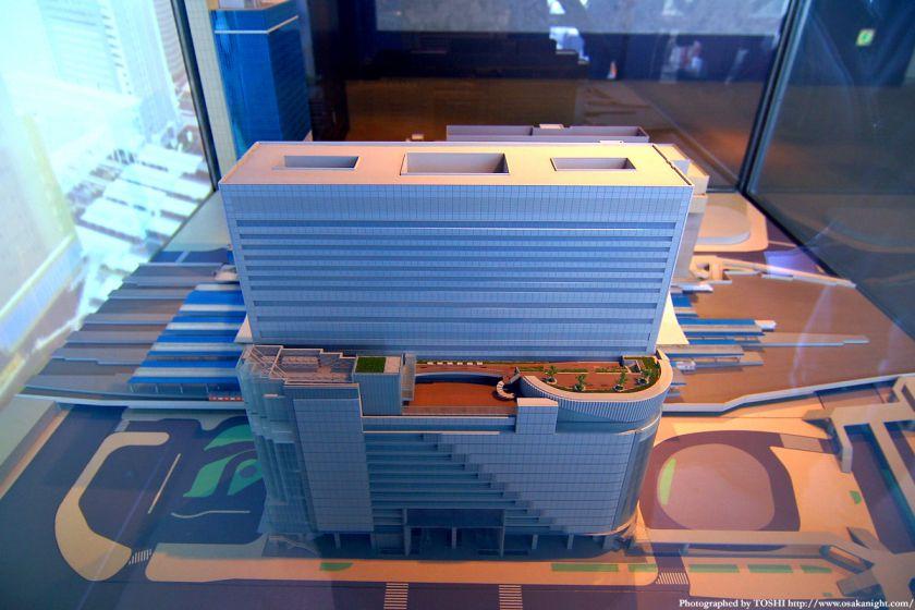 大阪ステーションシティの模型7
