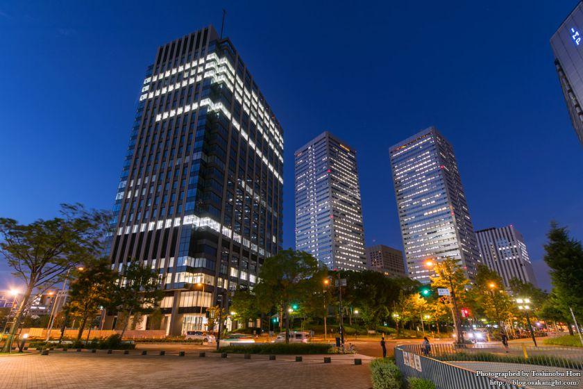 (仮称)新MID大阪京橋ビル 夜景 2017年8月 01