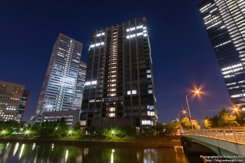 (仮称)新MID大阪京橋ビル 夜景 2017年8月 03