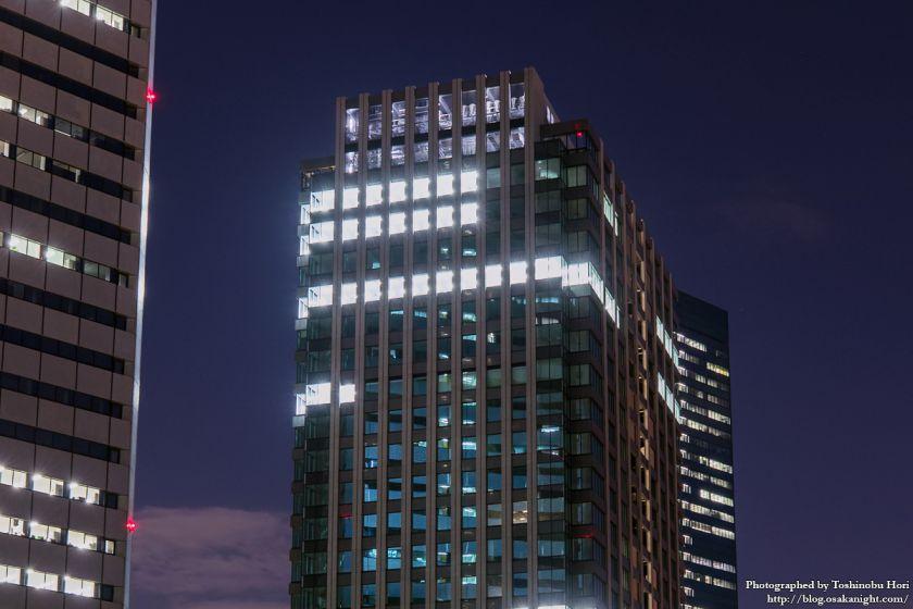 (仮称)新MID大阪京橋ビル 夜景 2017年8月 04