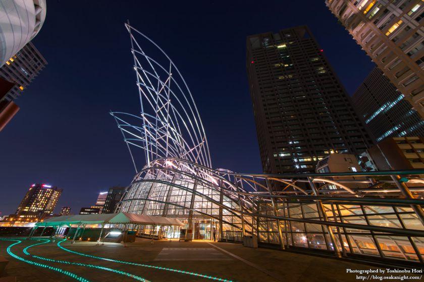 中之島 国立国際美術館 夜景 2017年8月 02