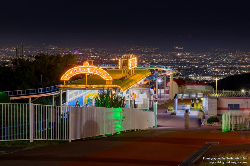 生駒山上遊園地 夜景 2017年9月 02