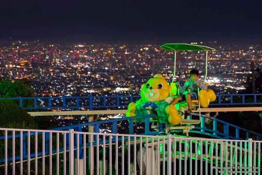 生駒山上遊園地 夜景 2017年9月 07