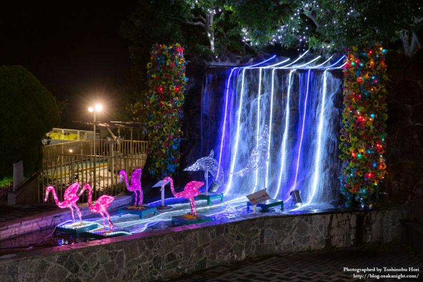 生駒山上遊園地 夜景 2017年9月 10