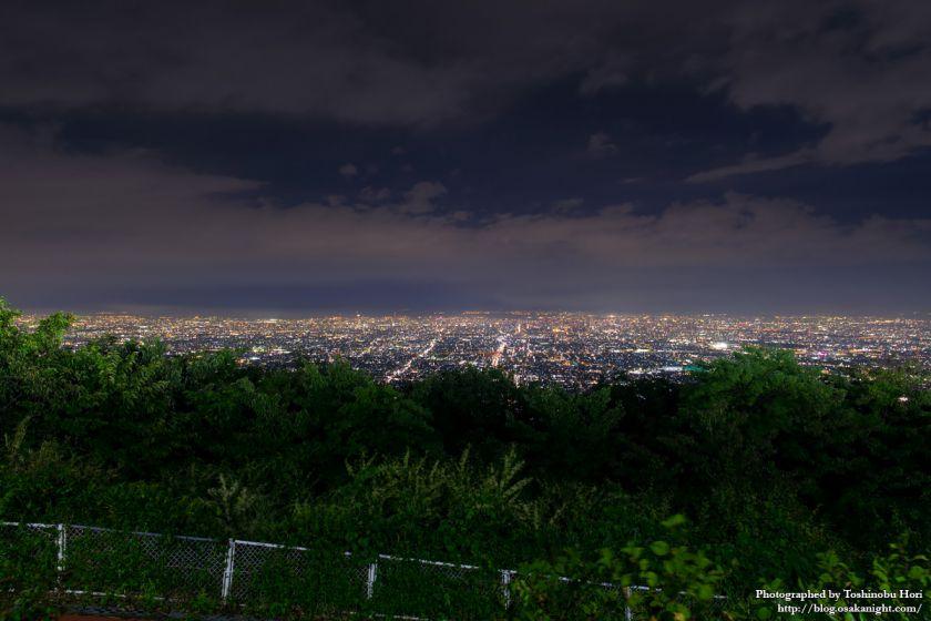 生駒山上遊園地 夜景 2017年9月 11
