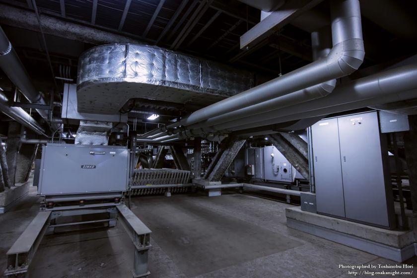 大阪国際会議場(グランキューブ大阪)機械室