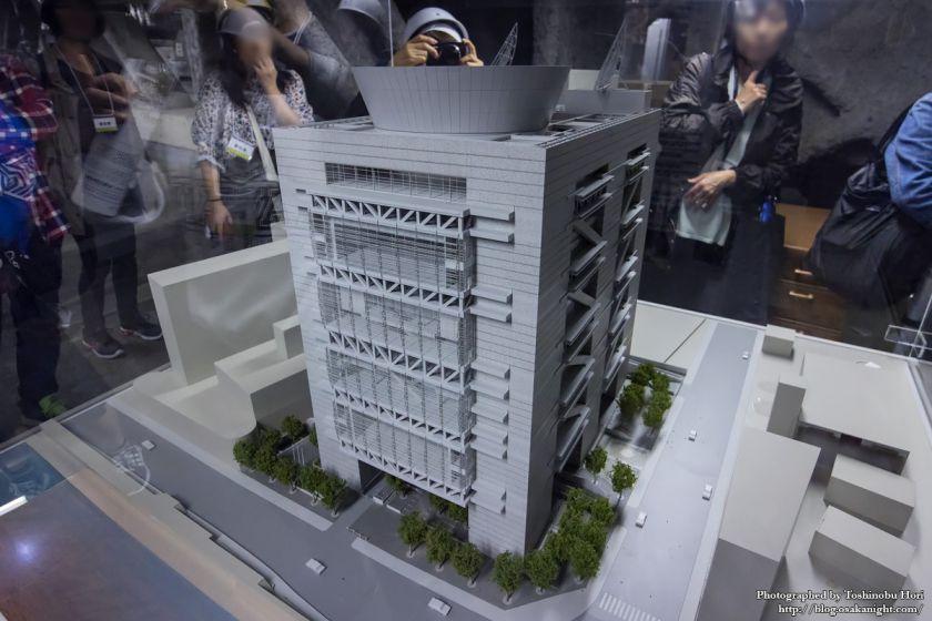 大阪国際会議場(グランキューブ大阪) 模型