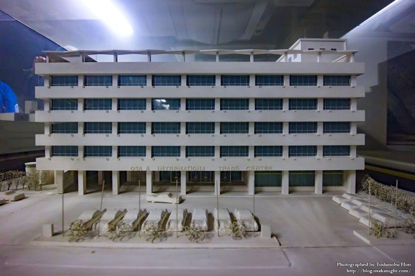 旧 大阪国際貿易センター 模型