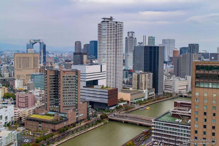 大阪国際会議場(グランキューブ大阪) 屋上 03 ほたるまち