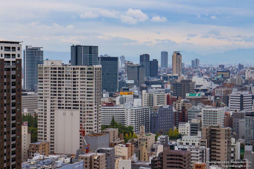 大阪国際会議場(グランキューブ大阪) 屋上 08 大阪都心方面