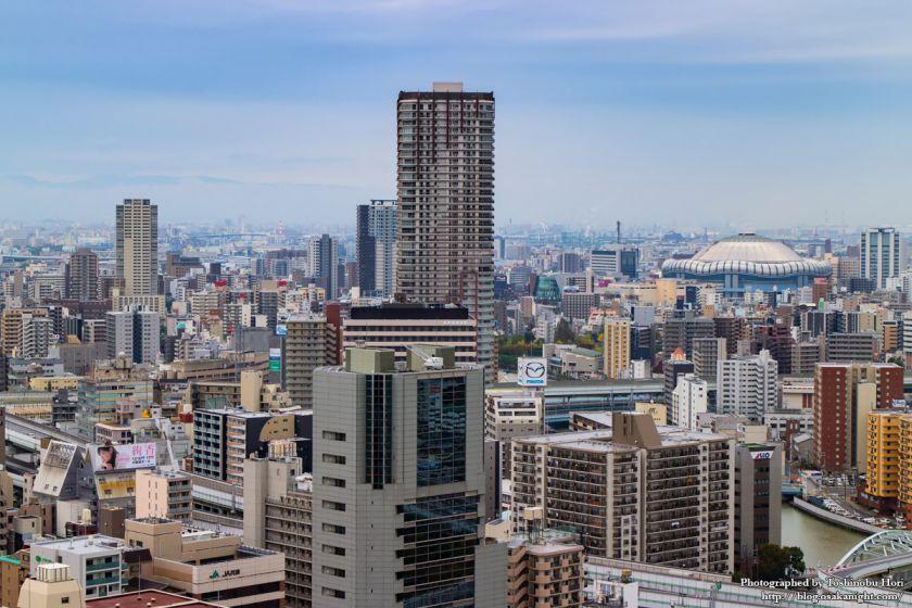 大阪国際会議場(グランキューブ大阪) 屋上 09 阿波座方面