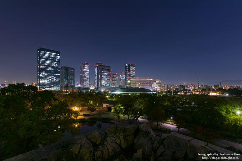 OBP 大阪ビジネスパーク 夜景 2017年11月 01
