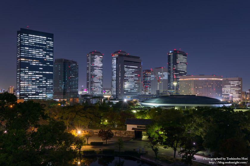 OBP 大阪ビジネスパーク 夜景 2017年11月 02