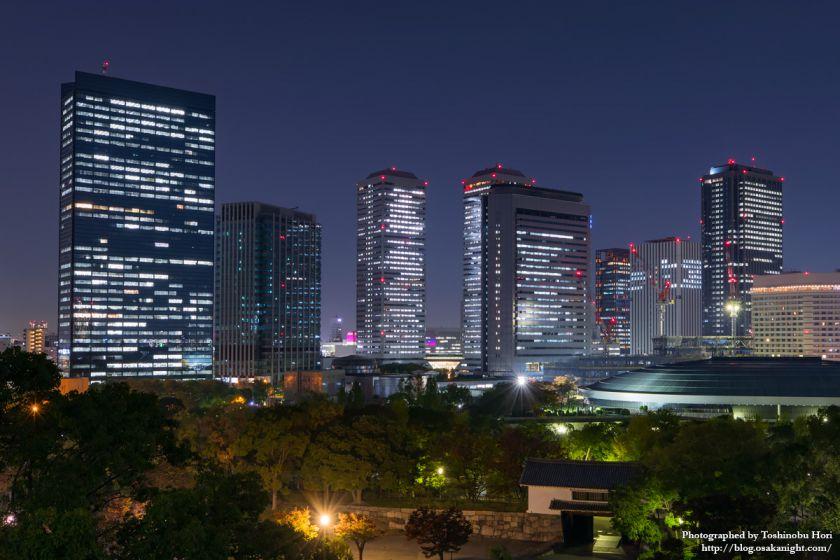 OBP 大阪ビジネスパーク 夜景 2017年11月 03