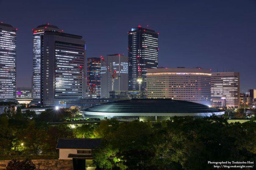 OBP 大阪ビジネスパーク 夜景 2017年11月 05