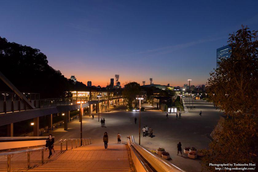 JO-TERRACE OSAKA (ジョーテラス・オオサカ) 夜景