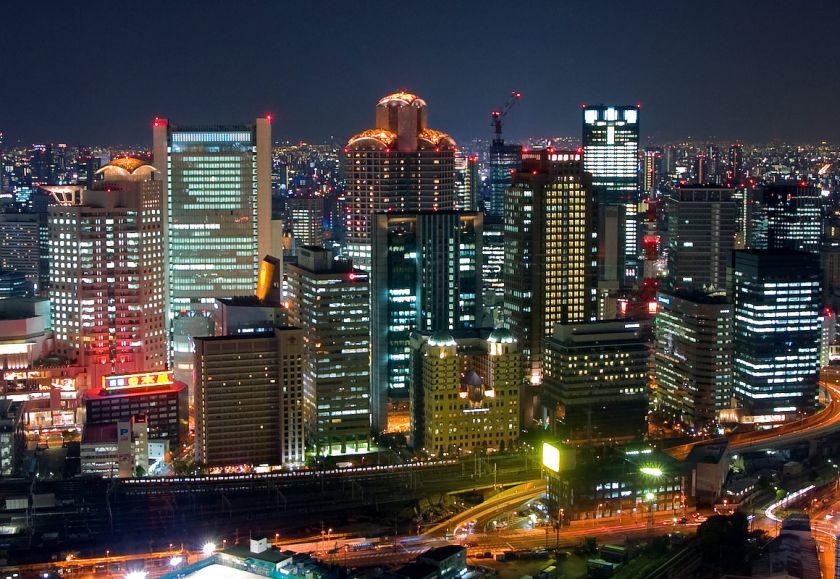 大阪ガーデンシティ全景