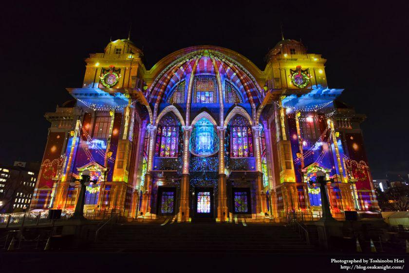 OSAKA光のルネサンス2017 ウォールタペストリー 大阪市中央公会堂特別公演 01
